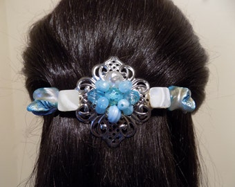 Large Barrette Handmade Womans Gift