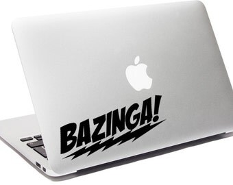 Bazinga! - Vinyl Decal