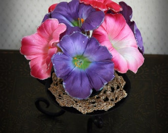 Women'/Girl's Foral Hairpins: Brimmless Blooms