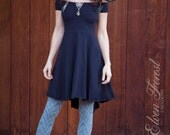 Fairy Tail-feather Dress ~ Fit and Flare