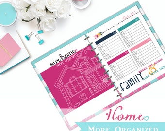 Our Home. More Organized. - Home Management Binder Digital File