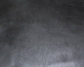 """Leather 12""""x12"""" BOMBER KING line Charcoal Slate Marbled SOFT thick Cowhide 3-3.25oz / 1.2-1.3mm PeggySueAlso™ E2882-04"""