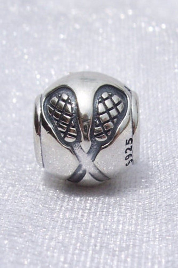89bb97374 Pandora Lacrosse Charm Passion Spaorts Fan Athletic Genuine