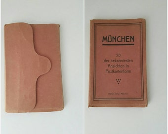 1922s View Book Postcards Of Germany.  Munchen/ Munich