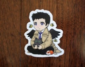 Castiel from Supernatural with Pets