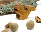 Wooden Animal Toy, Squirrel Heirloom Toy, Forest Animal Toy, Woodland Animal