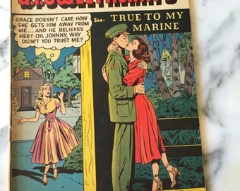 G.I. Sweethearts #33 August 1953 Magazine Comic Book