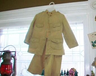 Vintage Child's Military Uniform