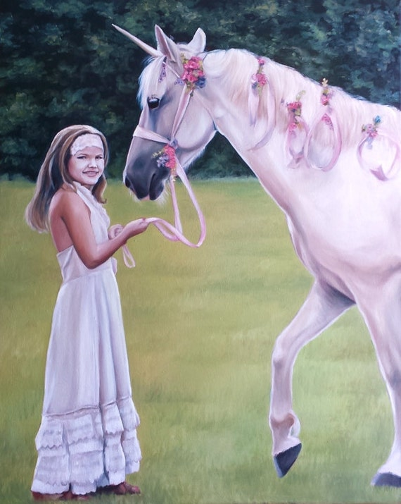 Reserved for Katie - CUSTOM HORSE PAINTING - Oil Painted Portrait - Custom Painting of Horse