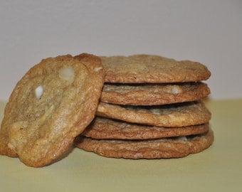White Chocolate Chip Macadamia Nuts  Cookies Chunky