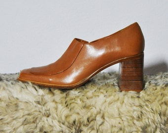 90s Chunk Ankle Boots US 10 EU 41