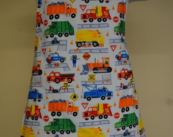 Truck Apron, Little Boys Full Coverage Cooking Apron