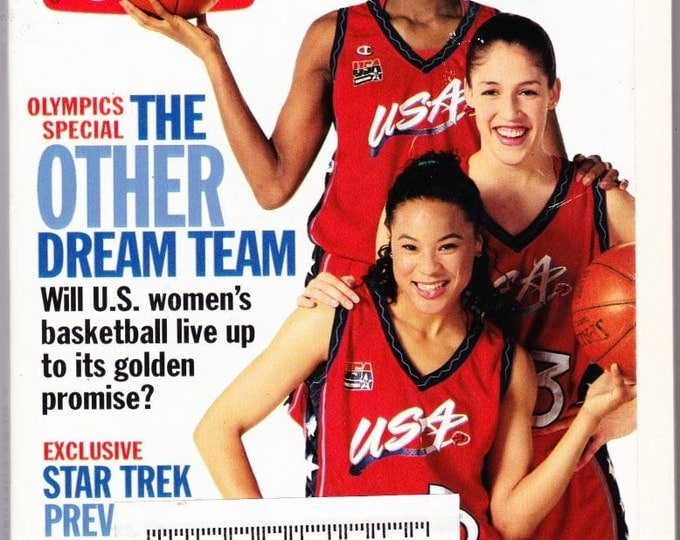 Vintage TV Guide, July-August, 1997, Olympics Special, The Other, Dream Team, US Womens, Basketball, Exclusive, Star Trek Preview, Babylon 5
