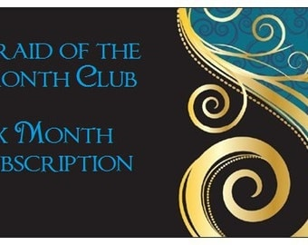 Braid of the Month Club: 6 month subscription