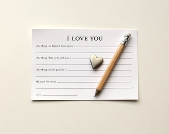 I Love You Card Printable Cards Valentine's Day Card Personalized Gift Anniversary Card Printable Valentine Card for Husband Card for Wife