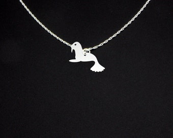 Vintage sea lion seal necklace sea lion jewelry sea lion sea lion necklace sea lion jewelry sea lion gift mozeypictures Image collections