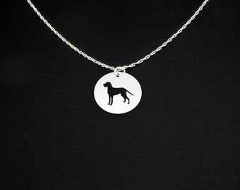 Wirehaired Vizsla Necklace - Wirehaired Vizsla Jewelry - Wirehaired Vizsla Gift