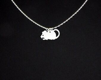 Rat Necklace - Rat Jewelry - Rat Gift