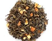 INARA'S BLISS Organic Orange Passionfruit Green Tea, Loose Leaf ,Serenity, Firefly, Geek Tea,1oz Earth Friendly Package