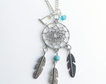Personalized Dream Catcher Necklace
