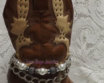 Festival Of Ice Boot Jewelry, Boot Bracelet, Boot Bling, Boot Jewelry, Cowgirl Boot Bling, Boot Band Bracelet