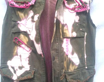 BURBO 'Pink Punk' jacket
