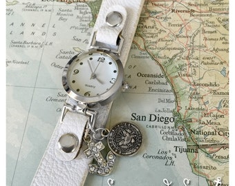 US Navy watch by Son and Sea Free US Shipping