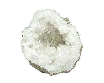 Millerite nickel fibrous crystals in quartz rock crystal Geode mined in Kentucky Nickel Mineral Metallic Specimen for the expert collector