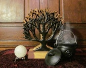 The Tree of Life~ natural, carved, nature, tree, sacred, witchery, altar, apothecary, ritual, wood, woodwork, witch, decor, druid, sabbats