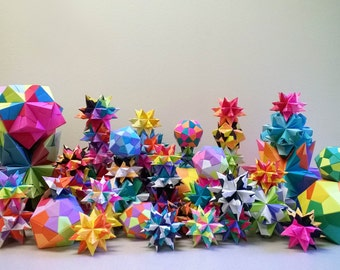 Origami Stars // Nerdy Christmas Gift // weird gift // cool gift // Gifts under 10 // gift for him // gift for her // gift for a friend