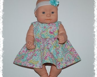 "Sleeveless Dress (11-13"" Doll)"
