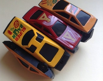 Toy Car Stretch Bracelet, 7 cars, fun bracelet, toy plastic cars, Greece