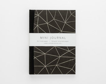 ANGLES eco-friendly journal A6 with lined pages