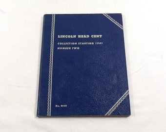 Lincoln Head Cent Coin Collection Book Two Starting 1941