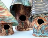 Whimsical Decorative Birdhouses - Medium