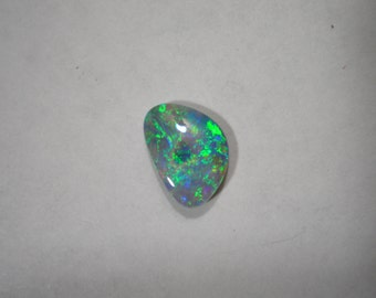 Loose Vibrant Australian Crystal Opal Free Form Gemstone October Birthstone