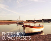 Photoshop Curves Preset - Antiqued - Use as PS Resource, Color Pop for Photo Editing & More