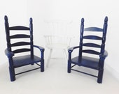 Wood Chairs, 3 Chairs, Doll House, Supplies