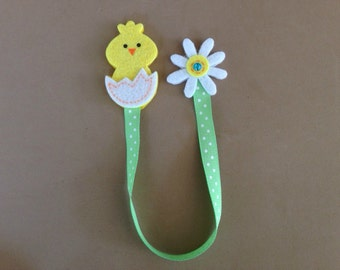 Easter Chick Bookmark