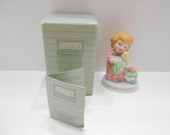 Vintage 1990 Avon Tender Memories (11) God Bless My Dolly