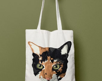 Calico Cat Tote
