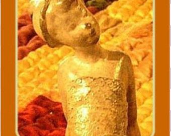 Scultura in bronzo Tiny Dancer