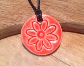 Essential Oil Pendant Diffuser Flower Pendant  Aromatherapy Jewellery  Handmade in UK - buy 2 get 1 free