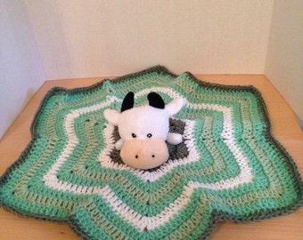 Crochet Cow Lovey