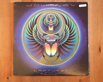 "JOURNEY – Captured  (1981) Vintage Vinyl 12"" Double LP"
