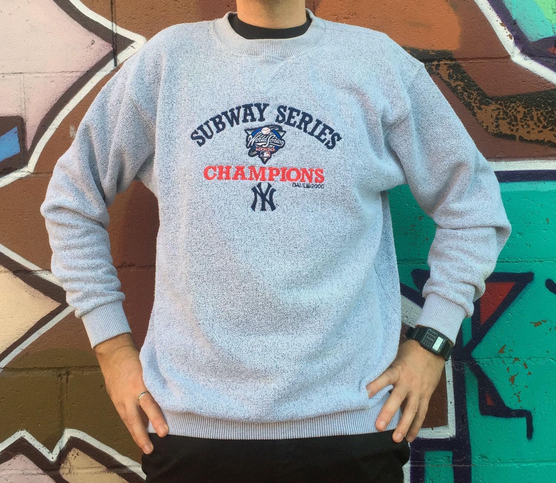 Vintage New York Yankees Vs Mets Subway Series World Champions
