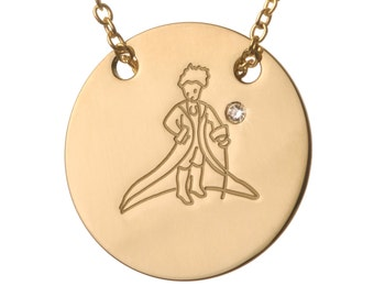 The Little Prince- 18K Gold necklace