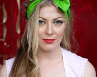 Lime Green Headband