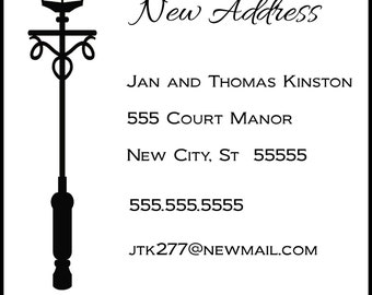 Lampost New Address Announcement
