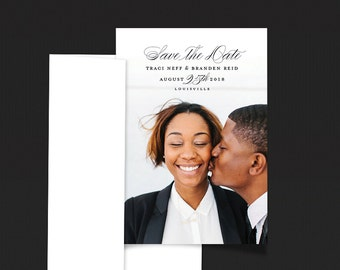Elegant Save the Date Magnets